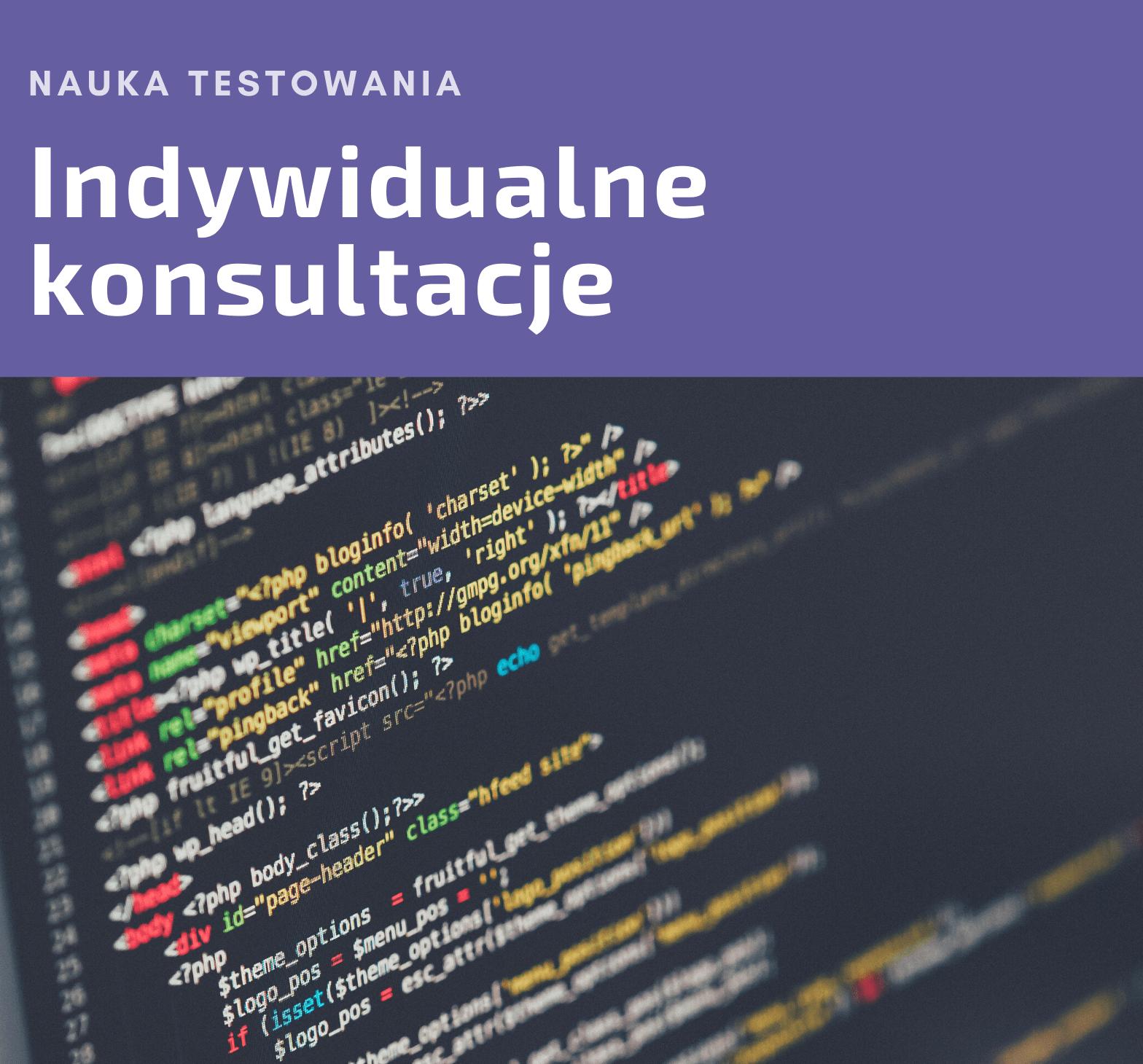 Nauka testowania prywatne konsultacje - krzapa.pl